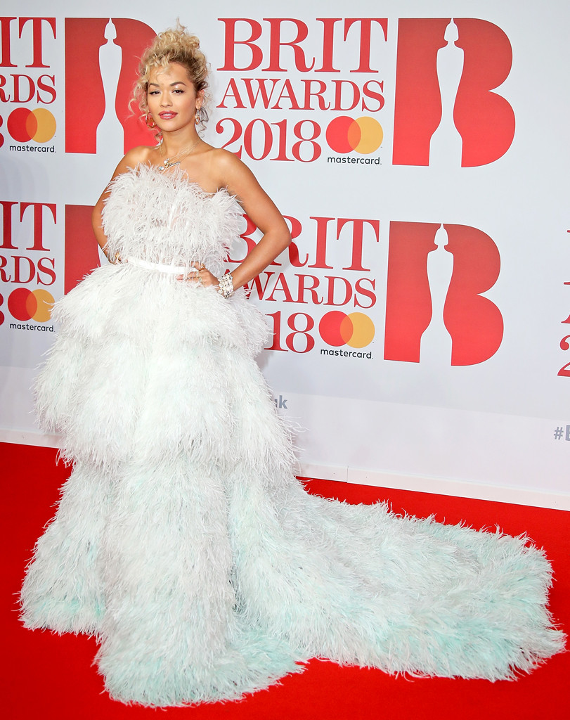 Rita Ora, 2018 Brit Awards